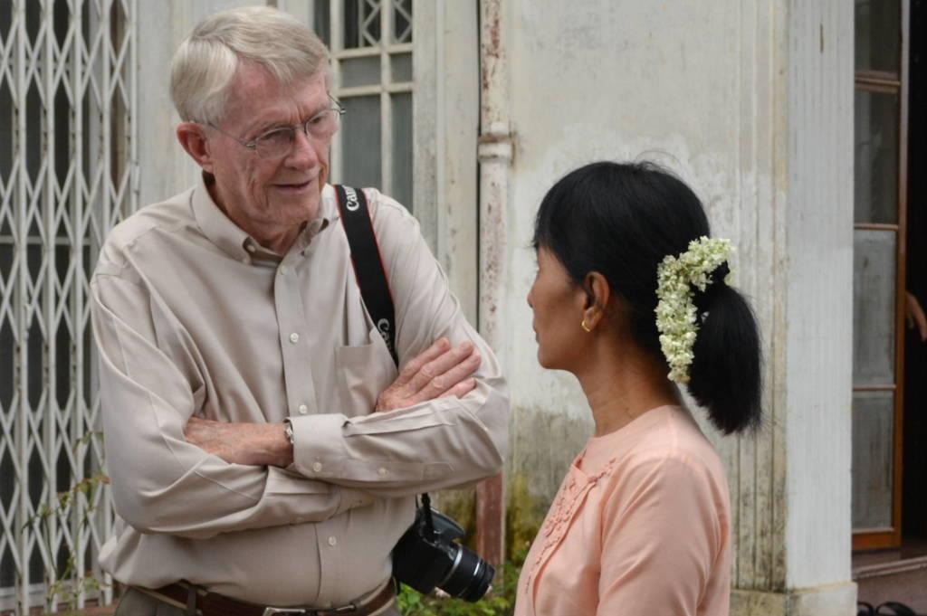 Suu Kyi and Jack Talking